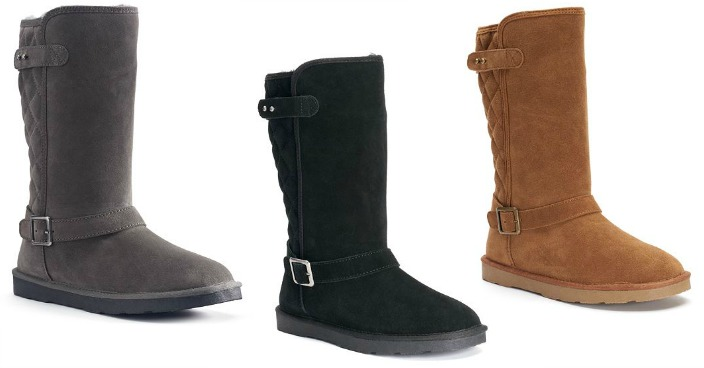 Sonoma Women's Suede Boots Only $24.49! Down From $90!