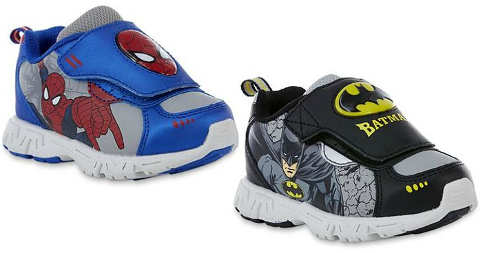 Better Than FREE Toddler Boy's Batman Or Spiderman Sneakers!