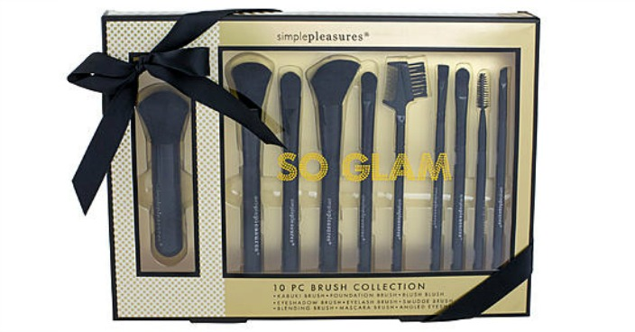 Tri-Coastal 10 Multi-Piece Brush Set