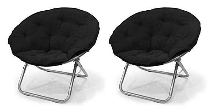 Urban Shop Microsuede Saucer Chair Just $22! Down From $36!
