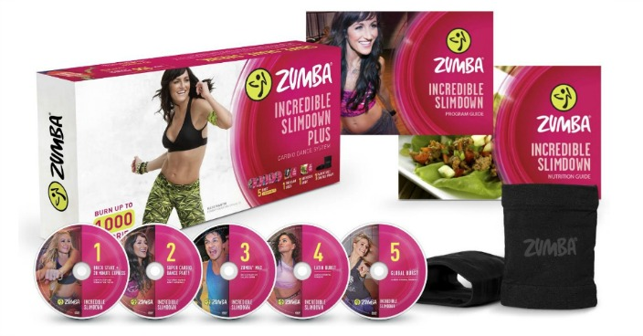 Zumba Fitness Incredible Slimdown DVD System Just $16.86! Down From $25!