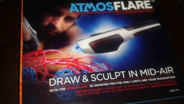 AtmosFlare 3D Drawing Pen!