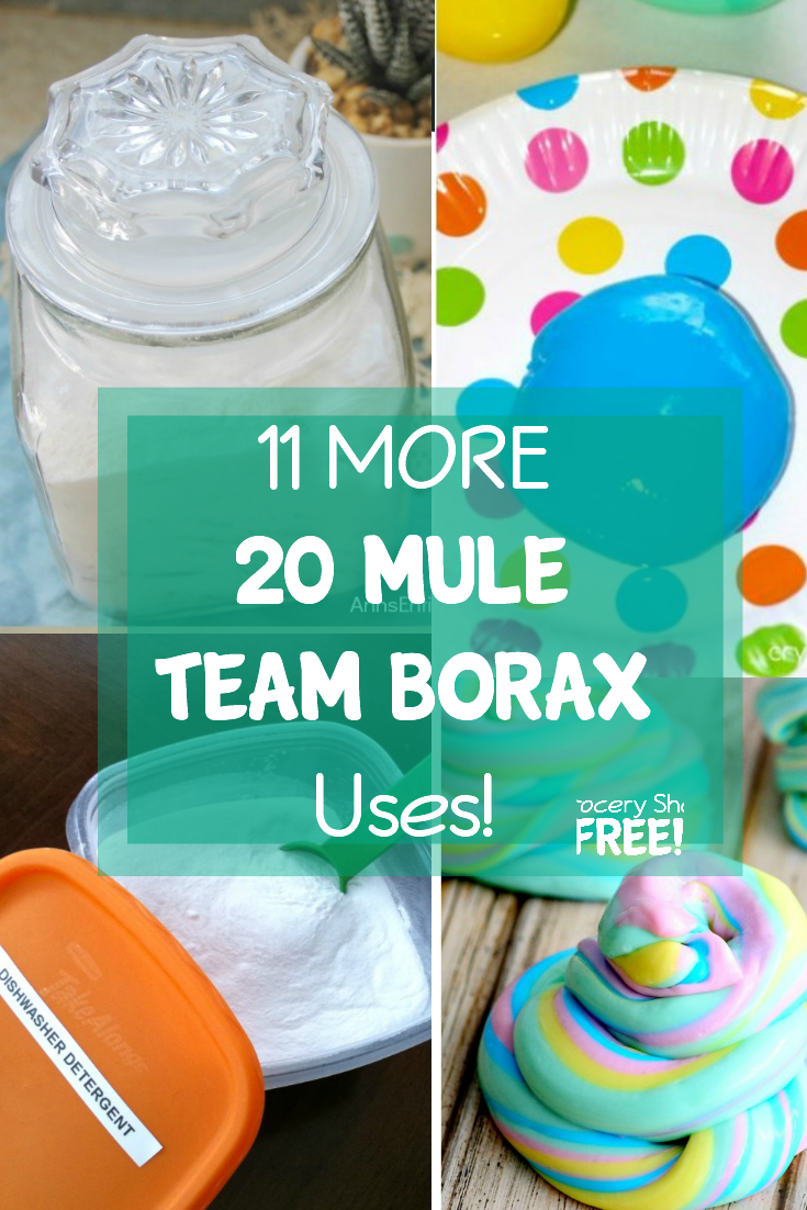 Here are even MORE uses for 20 Mule Team Borax!
