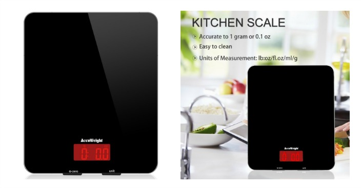 Accuweight Digital Multifunction Food Scale Just $8.99! Down From $50!