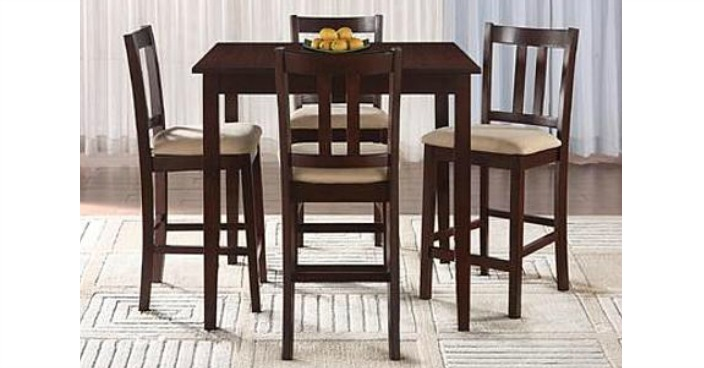 Essential Home Hayden Upholstered Dining Set Only $69.50! Down From $280!