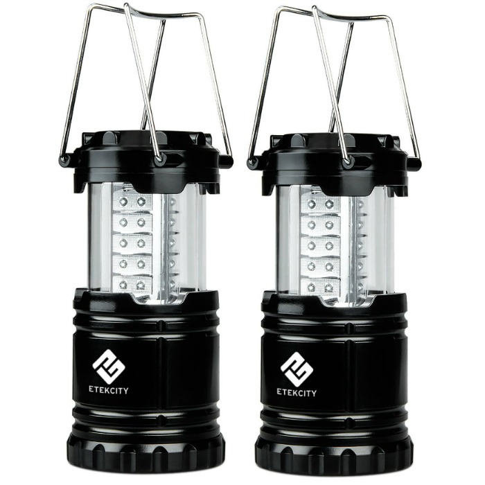 Etekcity 2 Pack LED Camping Lantern Just $12.99! Down From $40!