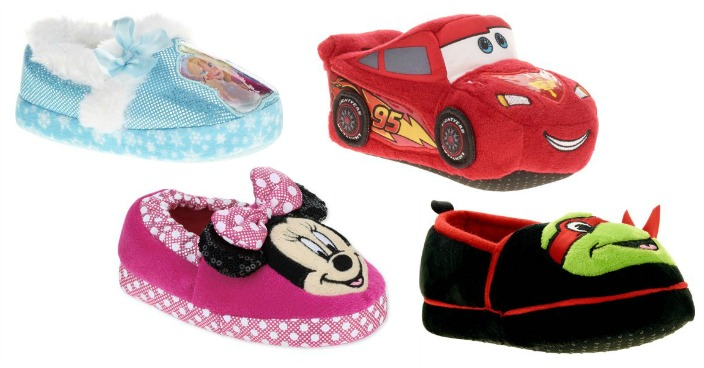 Kids' Character Themed Slippers Just $3.88! Down From $10!