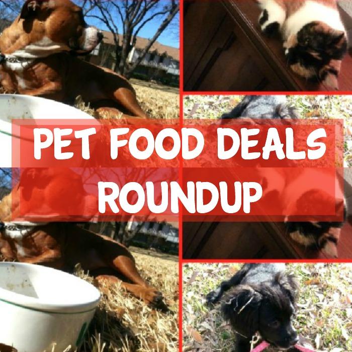 Pet Food Deals Roundup