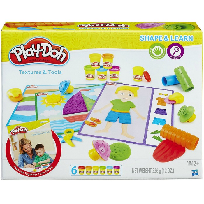 Play-Doh Shape and Learn Textures and Tools Just $5.81! Down From $17!