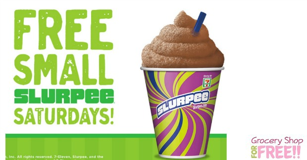 FREE Slurpee TODAY At 7-11