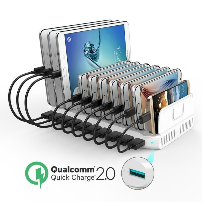 UNITEK 10-Port USB Charging Station Just $29.14! Down From $120!