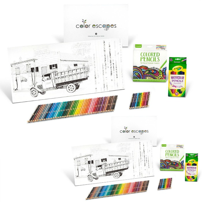 74-Piece Crayola Color Activity Set Just $6.98! Down From $25!