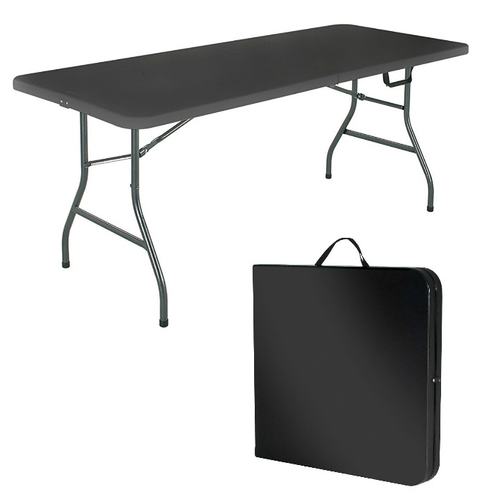 Cosco products centerfold folding table just down for 52 folding table