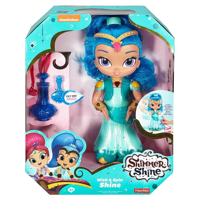 Fisher-Price Shimmer and Shine Wish & Spin Shine Just $14.92! Down From $40!
