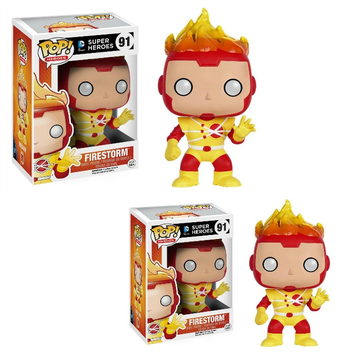 Funko POP Heroes: Firestorm Action Figure Just $4.56! Down From $11!