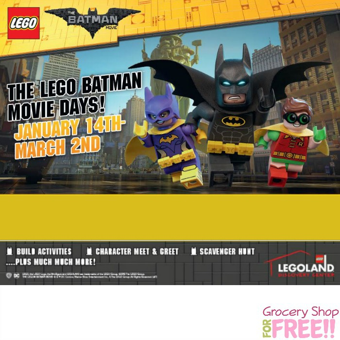 "DFW: The LEGO Batman Movie"" Days Giveaway!"