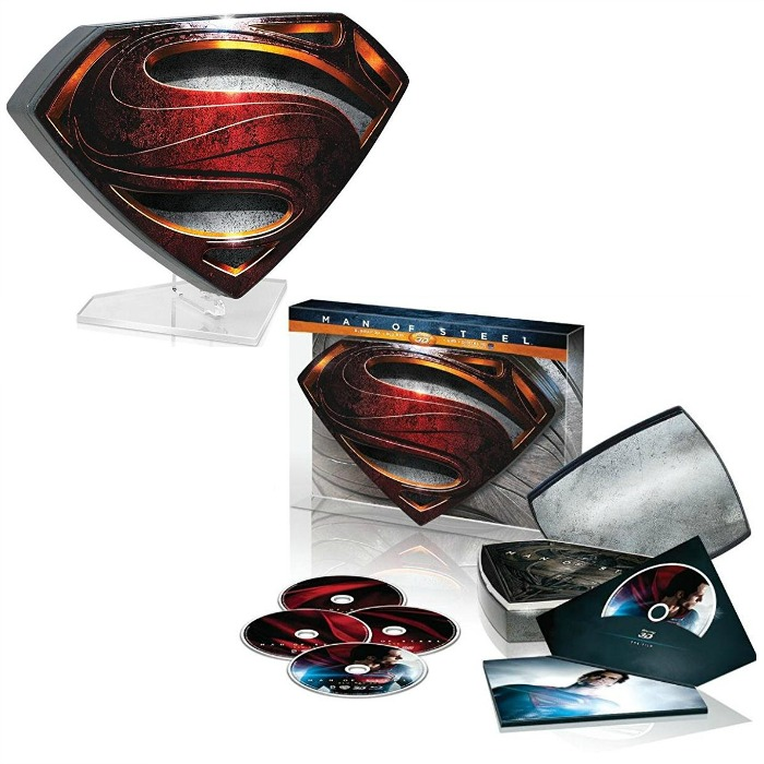 Man of Steel Collector's Edition Blu-ray + Ultraviolet Box Set Just $21.99! Down From $60!
