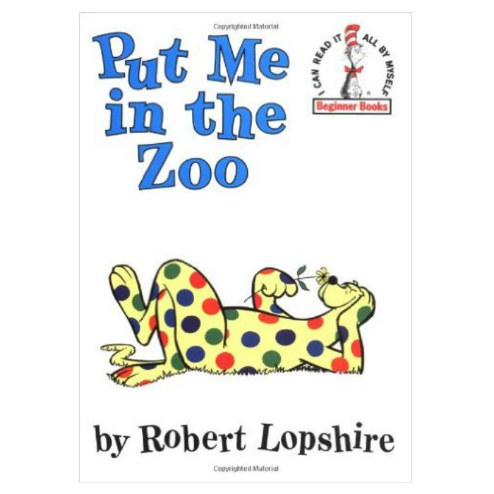 Put Me in the Zoo Hardcover Book Just $3.89! Down From $10!