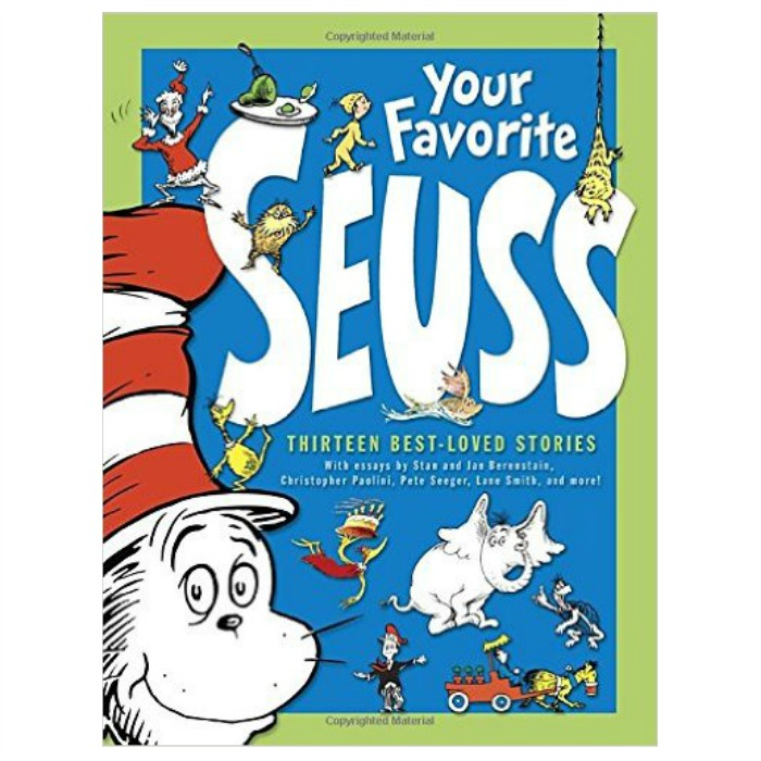 Your Favorite Seuss Hardcover Just $10.99! Down From $35!