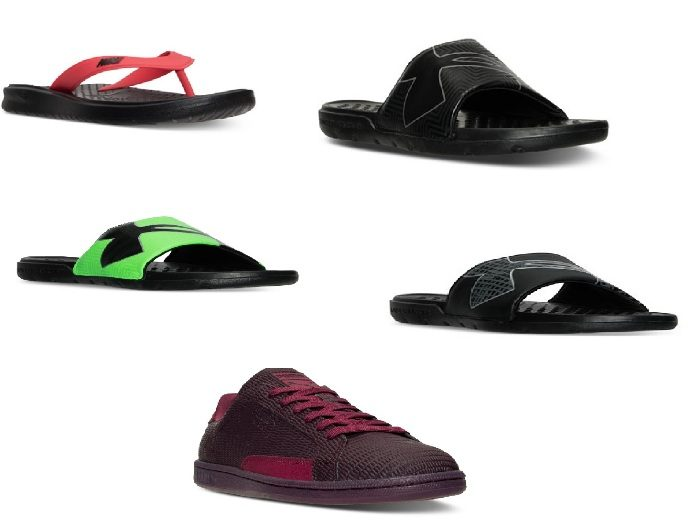 Men's Under Armour Slide Sandals Just $9.98, Puma Sneakers Just $19.98 PLUS More!