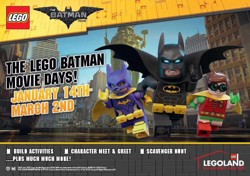 "DFW:  ""The LEGO Batman Movie"" Days Giveaway!"