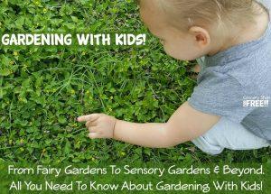 Gardening With Kids!