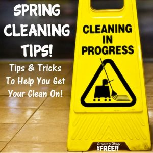 Spring Home Cleaning Tips!