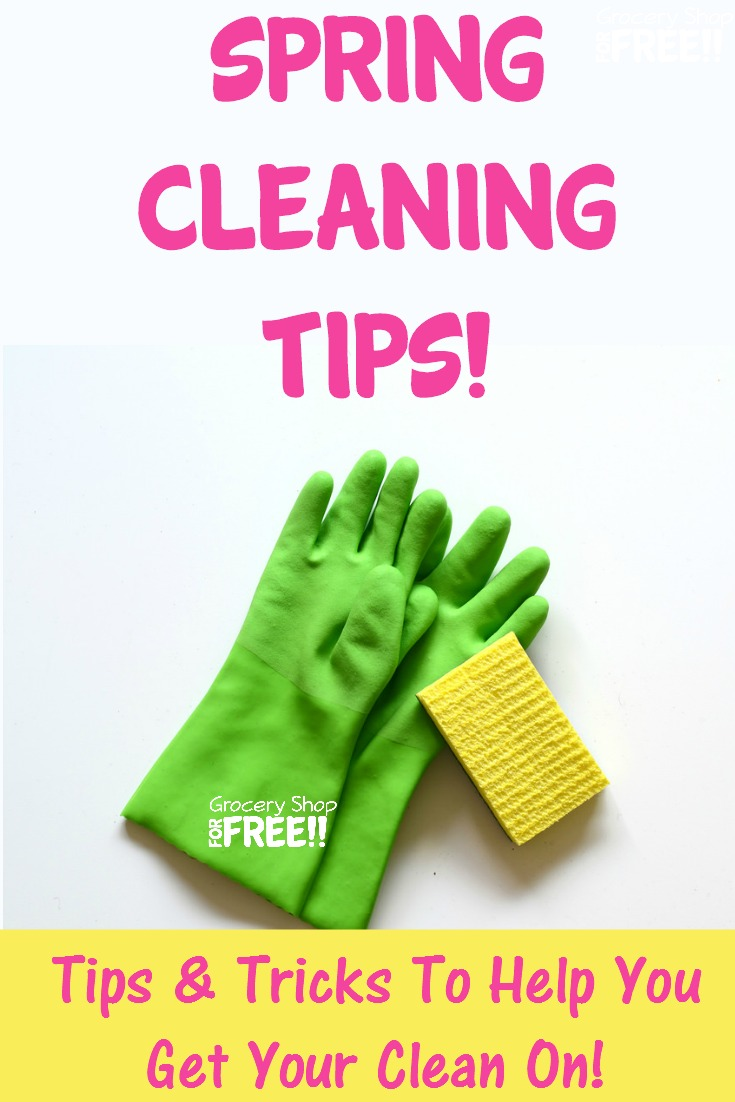 These Home Spring Cleaning Tips will help you get all of those long put off chores tackled!  These Spring Home Cleaning Tips will make it Home Clean Home again!