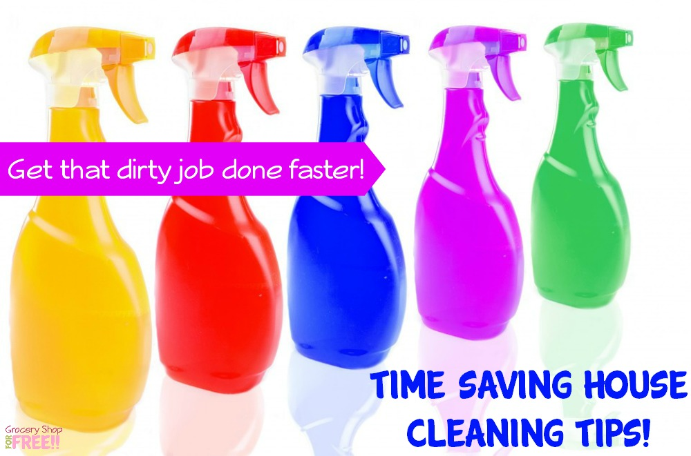 Time Saving House Cleaning Tips!