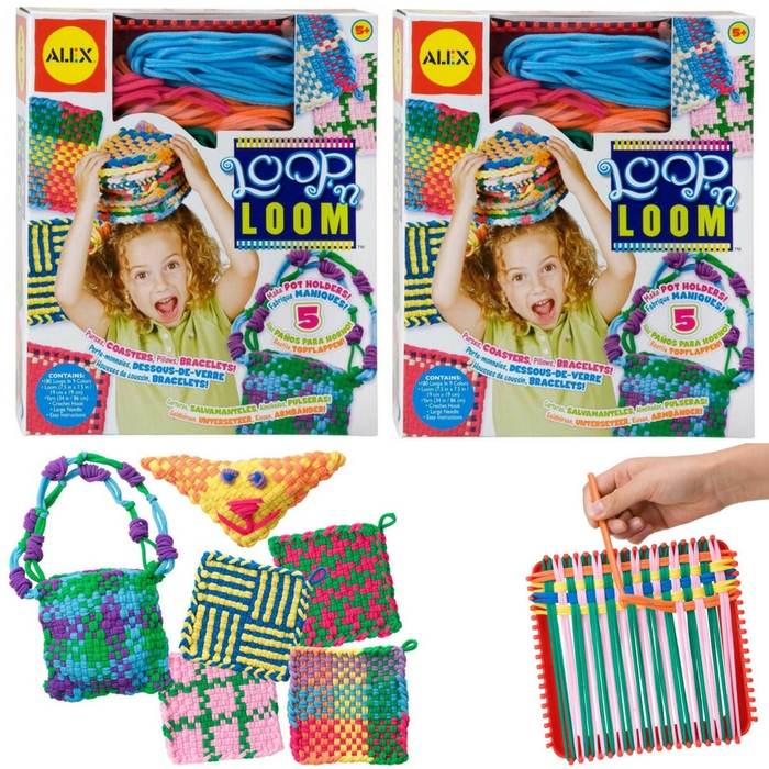 ALEX Toys Craft Loop 'N Loom Kit Just $9.09! Down From $24!