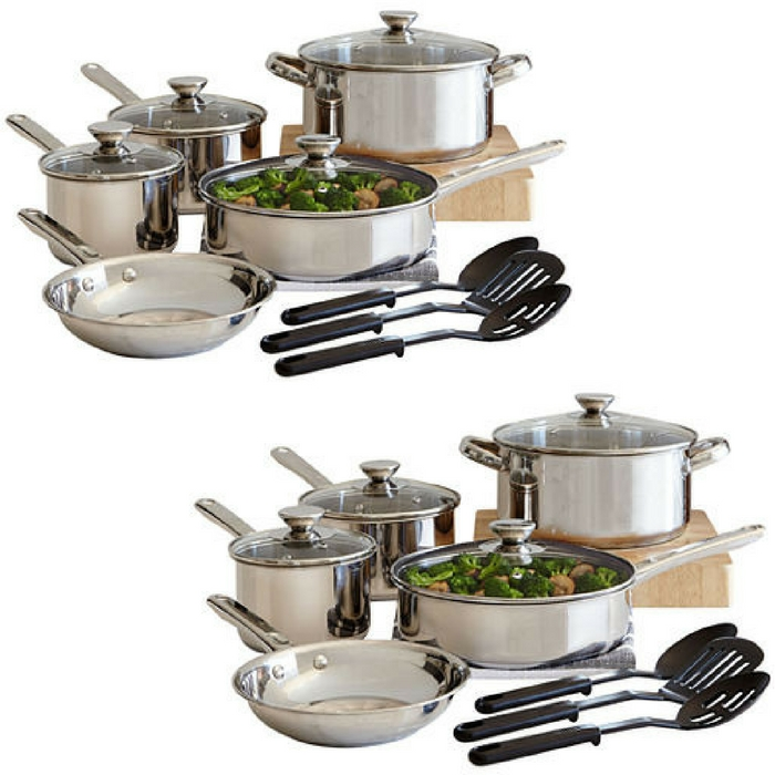 Cooks 12-Piece Cookware Set