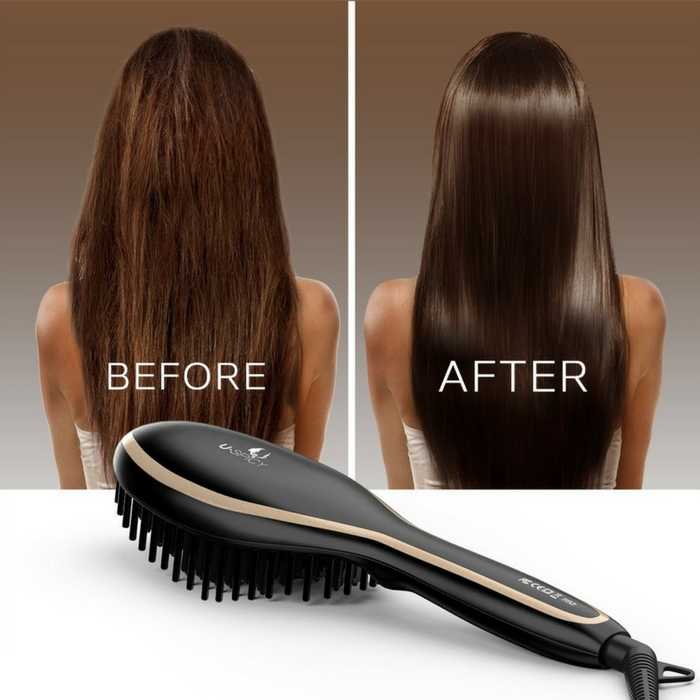 Hair Straightening Brush Just $9.99! Down From $20!