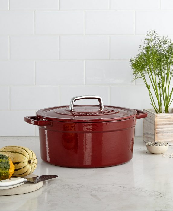 Martha Stewart Cast Iron Casserole Dish Just 44.99! Down From $180!