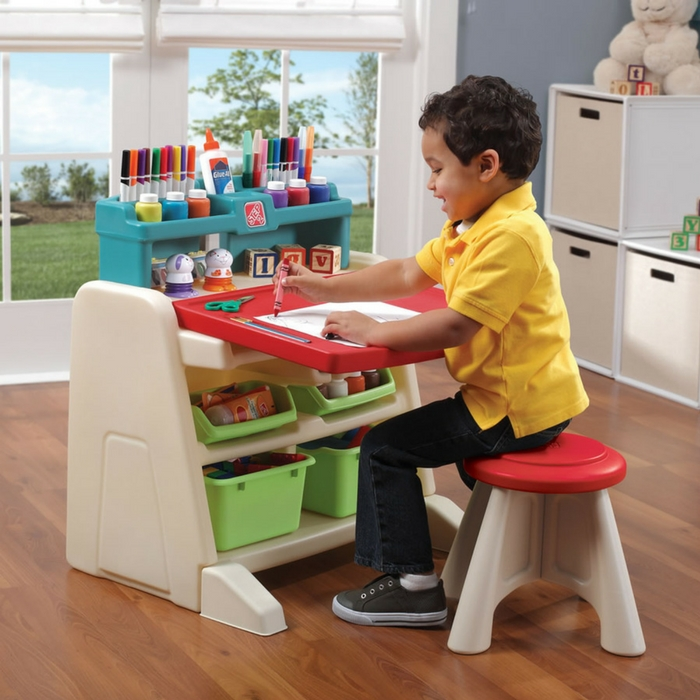 Step2 Flip And Doodle Desk With Stool Easel Just $45.99! Down From $78! PLUS FREE Shipping!