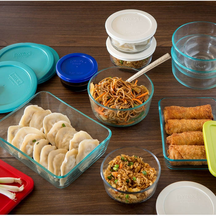 Pyrex 22-Piece Food Container Set