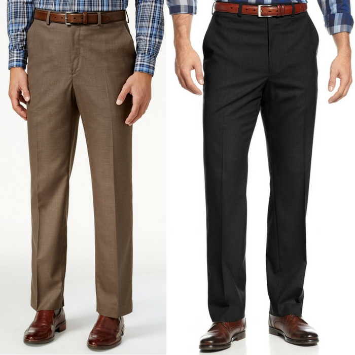 Michael Kors Solid Classic Dress Pants Just $29.99! Down From $95! LIMITED TIME ONLY!