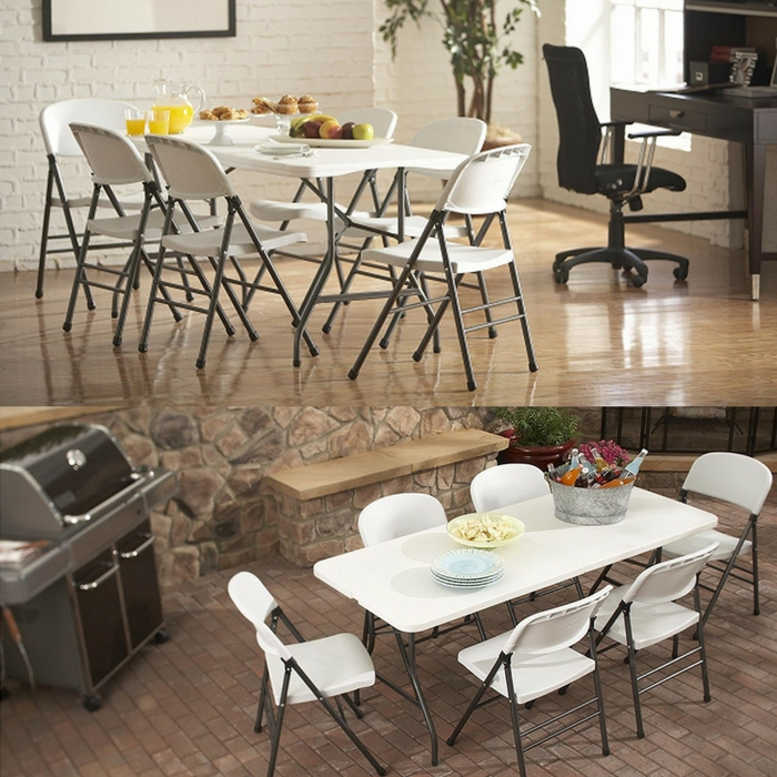 6 Foot Folding Table Just $38.88! Down From $100! PLUS FREE Shipping!
