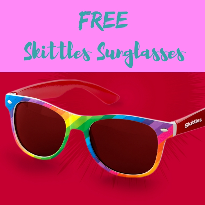 FREE Skittles Shades With Candy Purchase!