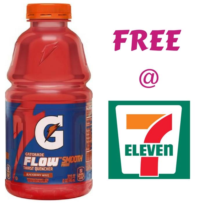 FREE Gatorade Strawberry Splash At 7-Eleven!