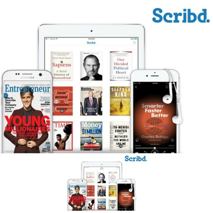 FREE 3-Month Scribd Subscription!  Was $27!  LIMITED TIME OFFER!