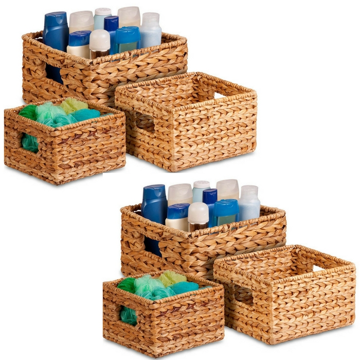 3-Piece Nesting Baskets Just $20.93! Down From $50!