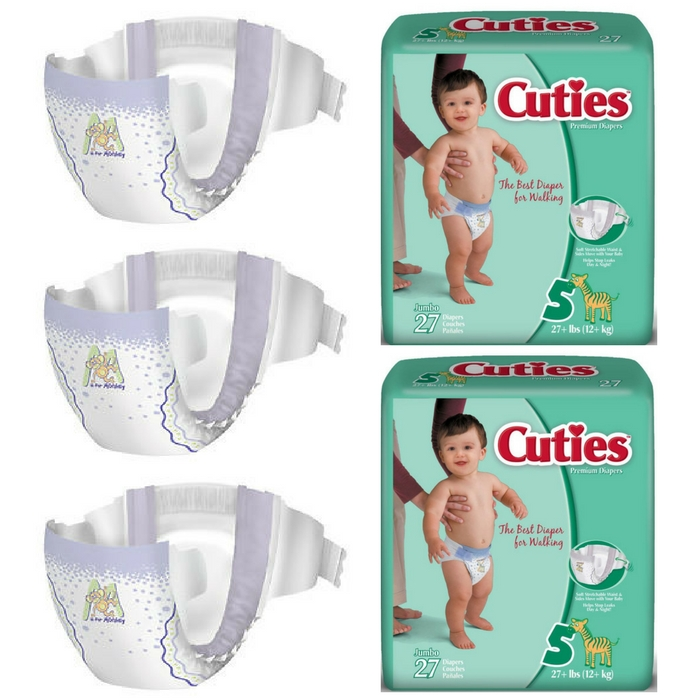 FREE Sample Cuties Diapers!