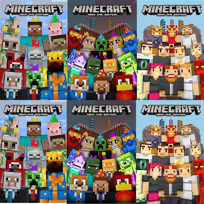 FREE Minecraft Birthday Skin Packs!