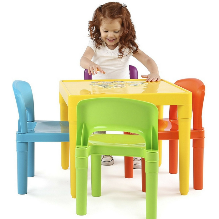 Kids Table And 4 Chairs Set Just $29.95! Down From $50! PLUS FREE Shipping!