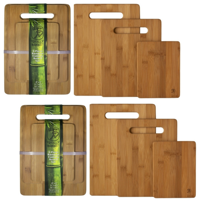 3 Bamboo Cutting Boards Just $12.99!