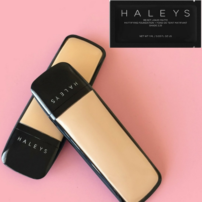 FREE Sample Haley's Beauty Foundation!