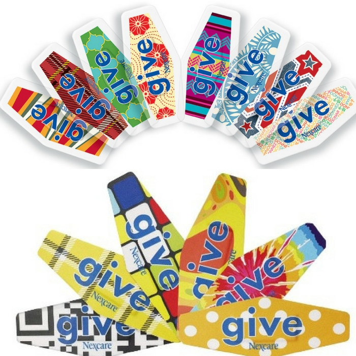 """FREE Nexcare """"Give"""" Bandages Sample Pack!"""