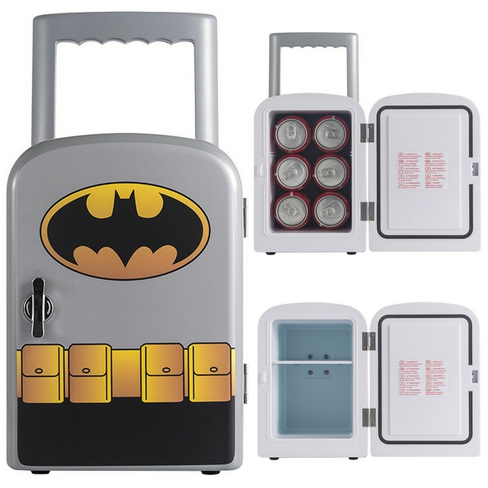 Batman Compact Refrigerator Just $29.99! Down From $60!