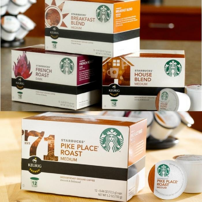 FREE Starbucks K-Cups!