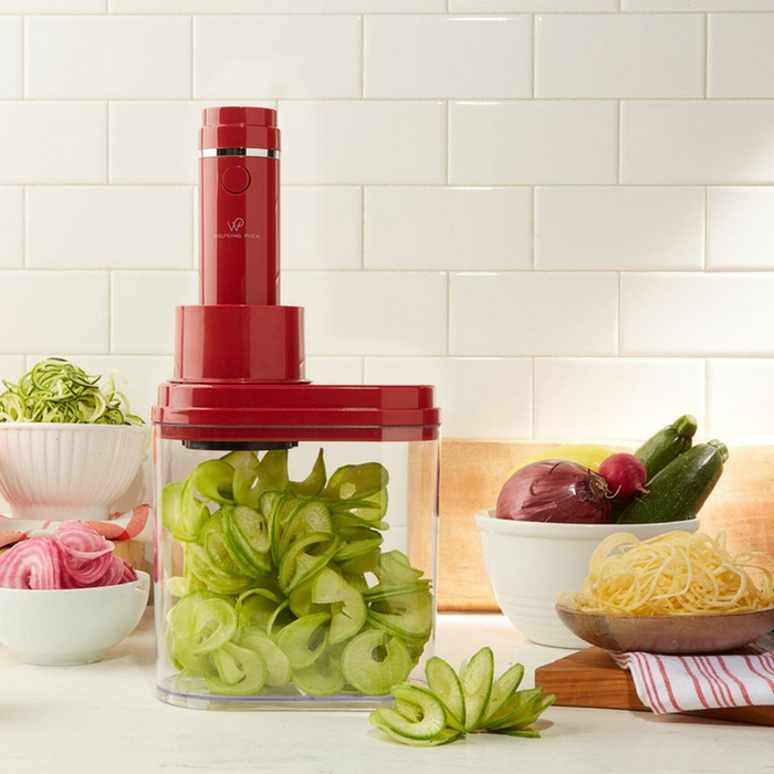 3-In-1 Electric Spiralizer With 3 Blades Just $17.99! Down From $80! PLUS FREE Shipping!
